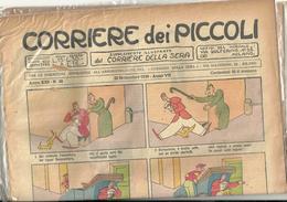 CORRIERE DEI PICCOLI --corriere Dei Piccoli--22 SETTEMBRE 1929-- N-38 ANNO VII FASCISTA - Corriere Dei Piccoli