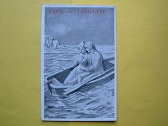 Paul Et Virginie ,publicité Maison Crucer Lorient - 1900-1949
