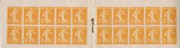 Carnet Booklet 158 C2 Semeuse Sower Série 11 - Booklets