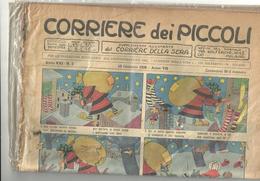 ANNO XXI  CORRIERE DEI PICCOLI --corriere Dei Piccoli--13  GENNAIO     1929-- N-2   ANNO VII FASCISTA - Corriere Dei Piccoli
