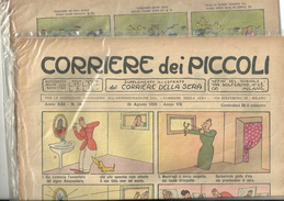 ANNO XXI  CORRIERE DEI PICCOLI --corriere Dei Piccoli--25   AGOSTO      1929-- N-34   ANNO VII FASCISTA - Corriere Dei Piccoli