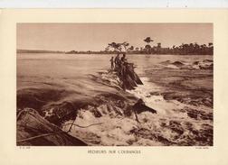PÊCHEURS SUR L'OUBANGUI, CONGO,  Planche Densité = 200g, Format: 20 X 29 Cm, (Bruel) - Documents Historiques