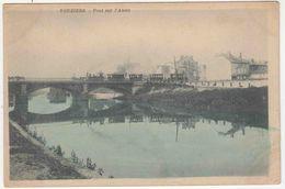 F_Vouziers_F08_04-pont De L'aisne_train Vapeur - Vouziers