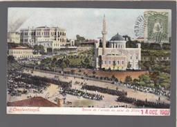 Turquie - Constantinopla - Revue De L'armee Au Serai De Yildiz - Turkménistan