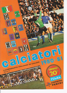 CALCIATORI PANINI 1980-81*Ristampa L'Unità 1994=solo Serie A - Sport