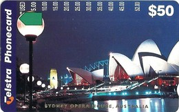 AUSTRALIA $50 SYDNEY OPERA HOUSE AT NIGHT TAMURA AUS-556 ONLY 1000 MADE !! READ DESCRIPTION !! - Australia