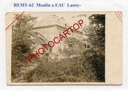 REMY-Lanoy-Moulin A Eau-Wassermühle-CARTE PHOTO Allemande-Guerre 14-18-1 WK-France-62- - France