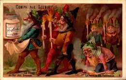 1 Chromos Liebig - La Fete Du Roi Des Gnomes  - S174 - R/V - Liebig