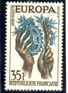 "FRANCE ""EUROPA""  - 1957: 35F Brun-noir Et Bleu - N° 1113** - Europa-CEPT"