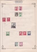 Espagne - Collection Vendue Page Par Page - Timbres Oblitérés / Neufs *(avec Charnière) -Qualité B/TB - 1931-50 Usados