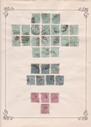 Espagne - Collection Vendue Page Par Page - Timbres Oblitérés / Neufs *(avec Charnière) -Qualité B/TB - Impuestos De Guerra