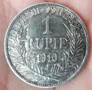 Germany - East Africa Colonies - DEUTSCH OSTAFRIKA - 1 RUPIE - 1910 J - East Germany Africa