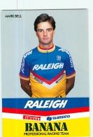 Mark BELL  . 2 Scans. Cyclisme. Raleigh Banana 1987 - Ciclismo