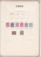 Cook - Collection Vendue Page Par Page - Timbres Oblitérés / Neufs *(avec Charnière) -Qualité B/TB - Cook