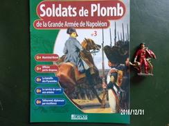Murat + Porte Drapeau - Soldats De Plomb De La Grande Armée De Napoléon - Figurines