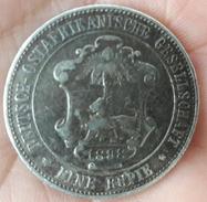 Germany - East Africa Colonies - DEUTSCH OSTAFRIKANISCHE GESELLSCHAFT - 1 RUPEE / EINE RUPIE - 1898 (Wilhelm II) - Africa Della Germania Dell'Est