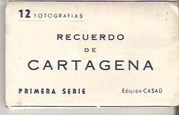 12 Fotografias  Recuerdo De Cartagena Primera Serie Edicion Casau Foldout Booklet - Books, Magazines, Comics