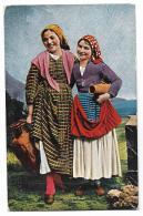 COSTUMI SICILIANI 1929 VIAGGIATA FP - Italië