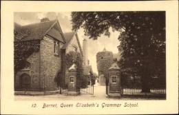 Cp London City, Barnet, Queen Elisabeth's Grammer School, Gymnasium - London