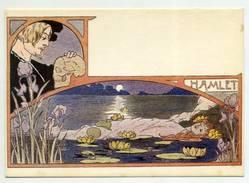 """OPERA , """"HAMLET"""" Art Noveaux , France  ( 2 Scans ) - Opera"""