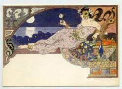"OPERA , ""SALAMMBO"" Art Noveaux , France  ( 2 Scans ) - Opera"