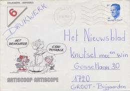 BELGIË/BELGIQUE :1990: Illustrated Cover : ## ARTISCOOP – ARTISCOPE ## - Belgique