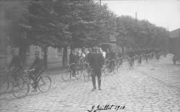 78 - YVELINES / Saint Cyr L' école - Carte Photo - Beau Cliché Animé - Bataillon Cyclistes - St. Cyr L'Ecole