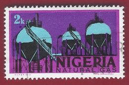 1973 - Natural Gas - Mi:NG 274 - Used  - Used - Nigeria (1961-...)