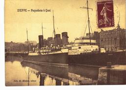 Carte Postale Ancienne De DIEPPE - Dieppe