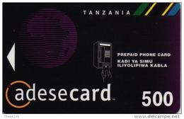 TANZANIA PHONECARD ATL LOGO  500sh-USED(2)