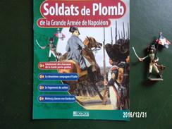 Porte Drapeau - Soldats De Plomb De La Grande Armée De Napoléon - Figurines