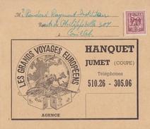 BELGIË/BELGIQUE :1951: Travelled Brochure ## Les Grand Voyages Européennes HANQUET, JUMET ## - Sports & Tourisme