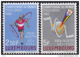 Luxembourg 1962 World Championship In Cyclo-cross, MNH (**) Michel 655-656 - Luxembourg