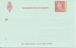 Denmark Correspondance Card Nr. 114 In Mint Condition - Enteros Postales