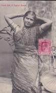 ASIE-----SRI LANKA--CEYLON----tamil Girl,a.typical Beauty---(carte Mal Recollée)---voir 2 Scans - Sri Lanka (Ceylon)
