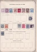 Nouvelles Galles Du Sud - Collection Vendue Page Par Page - Timbres Oblitérés / Neufs *(avec Charnière) -Qualité B/TB - 1850-1906 New South Wales