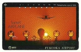 Giappone - Tessera Telefonica Da 105 Units T196 - NTT - Avions
