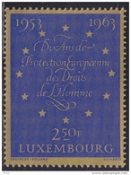 Luxembourg 1963 - 10 Years Of Human Rights Protection, MNH (**) Michel 679 - Luxembourg