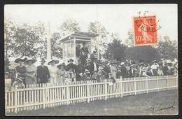 Carte Photo A Identifier Champ De Courses? LANGON? 1912 (Guilleminot) Gironde (33) - Non Classificati