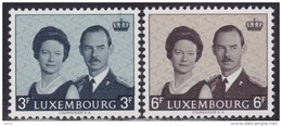 Luxembourg 1964 Throne Ascension Of Grand Duke Jean, MNH (**) Michel 701-702 - Luxembourg