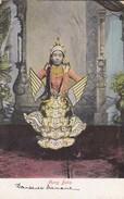 ASIE------MYANMAR----AUNG BALA----(danseuse Brimane)---voir 2 Scans - Myanmar (Burma)