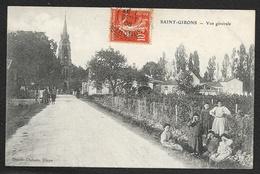 SAINT GIRONS Rare Vue Générale (Dando) Gironde (33) - France