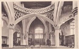 RUSHDEN - ST MARYS CHURCH INTERIOR - Northamptonshire