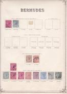 Bermudes - Collection Vendue Page Par Page - Timbres Oblitérés / Neufs *(avec Charnière) -Qualité B/TB - Bermudes