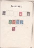 Falkland - Collection Vendue Page Par Page - Timbres Oblitérés / Neufs *(avec Charnière) -Qualité B/TB - Falkland