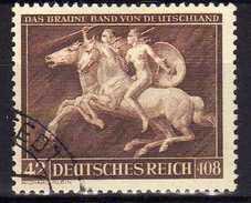 Deutsches Reich, 1941, Mi 780, Gestempelt, Das Braune Band [030117StkKV] - Germany