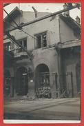 68 - LUTTERBACH - Carte Photo - Bahnhof - Gare - Soldats Allemands - Guerre 14/18 - 3 Scans - Francia