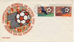 Voetbal: FDC Mexico - 1969 - World Cup