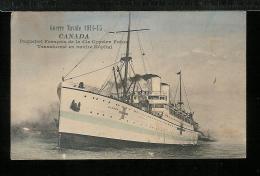 CANADA PAQUEBOT  Français Cie Cyprien Transformé En Navire Hôpital - Guerre Navale 1914 1918 - Altri