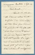 FORLI' RONCADELLO 1929 LUNGA LETTERA AUTOGRAFA DI DON GUGLIELMO PRATI.... - Autografi